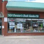 Exterior photo of Forster's Book Garden, Bolton, Ontario