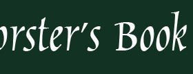 Bookseller: Conversation with Donna Kamiel-Forster, co-owner of Forster's Book Garden