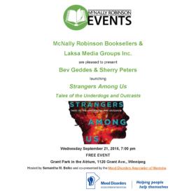 Winnipeg Book Launch (Free Event): Strangers Among Us