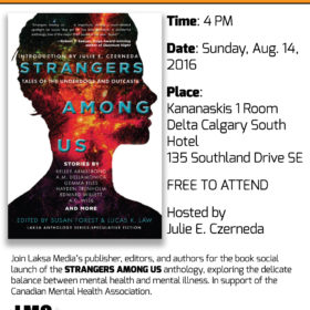 Calgary Book Launch: Strangers Among Us (August 14, 2016)