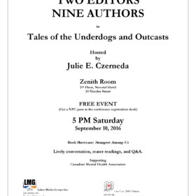 Ottawa Book Launch (Free Event): Strangers Among Us. Hosted by Julie E. Czerneda